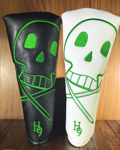 Black & White Skull Tees Putter Cover ***Limited Edition***