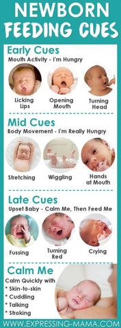Baby hungry symptoms