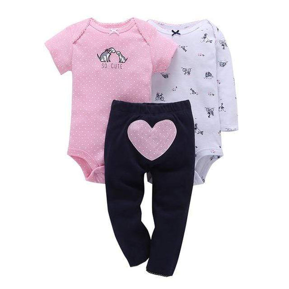 Simple Joys by Carter's Newborn Baby Short & Long Sleeve Infants Cotton Bodysuit + pants 3 Piece Set Toddlers Onesie, Jumpsuits & Romper's baby shop 2019