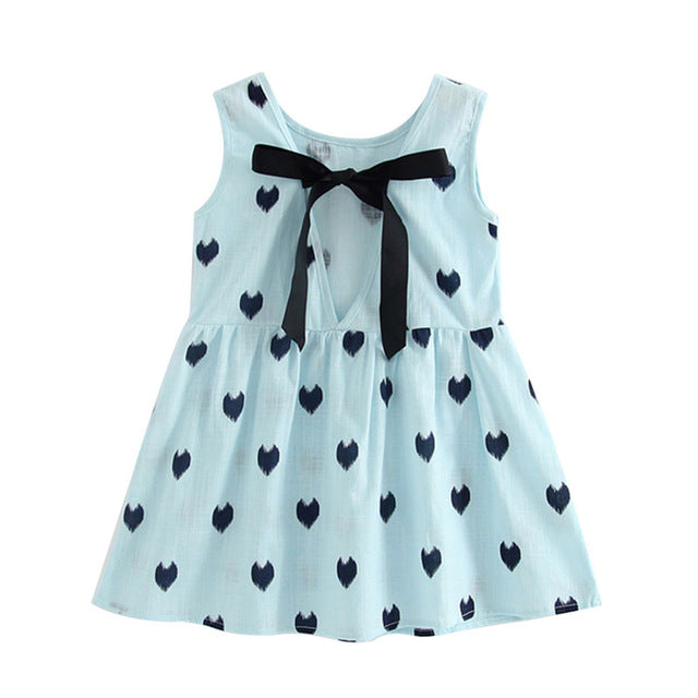 Baby Girls Summer Dress | Baby Girls Colourful Summer Sleeveless Blouse