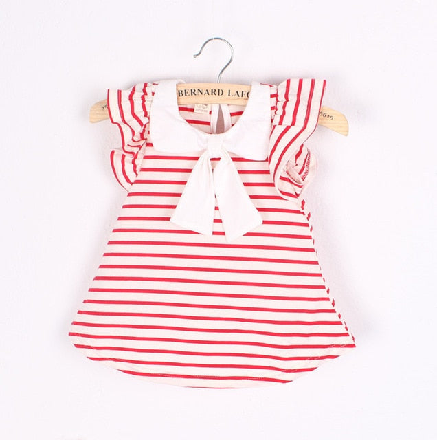 Baby Girls Summer Outfit | Baby Girls Sleeveless Cotton dresses