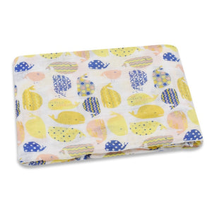 Baby Blanket 100% Organic Cotton Baby Wrap | Newborn Baby Swaddle | Accessories baby clothes shop uk