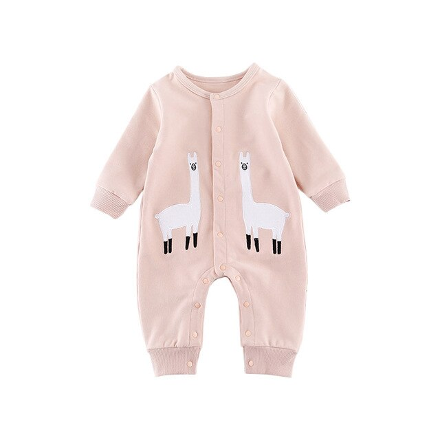 Baby Cute Animal Romper Boy Girls Jumpsuit Outfits Long Sleeve Clothes Infant Unisex Babies One-pieces Newborn Kids Clothing  baby clothes shop uk