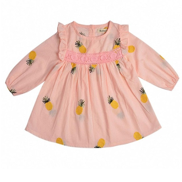 Baby Girls Pink Summer Dress Baby Girl Dress baby clothes shop uk