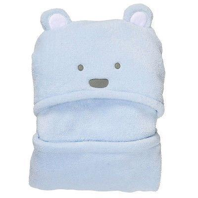 Super Soft Animal Shape Baby Hooded Bathrobe / Towel / Baby Blanket, Blue. - Baby clothes Accessories baby shop 2019