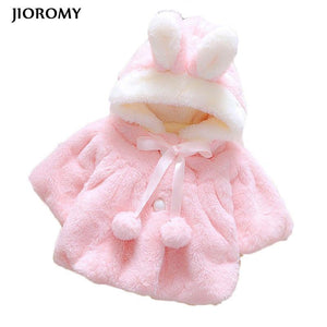 Winter Outerwear Lovely Bow Coat for Baby Girls - Baby clothes Toddler Sets baby shop 2019