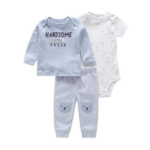 Newborn Baby Cotton Bodysuit set | baby outfit Toddlers Onesie, Jumpsuits & Romper's baby clothes shop uk