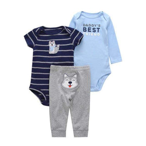 Simple Joys by Carter's Newborn Baby Short & Long Sleeve Infants Cotton Bodysuit + pants 3PCS Set Toddlers Onesie, Jumpsuits & Romper's baby clothes shop uk