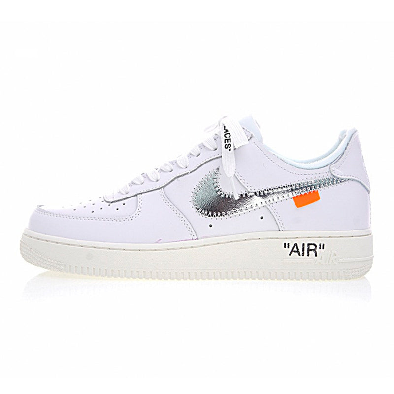 more photos 965b8 bf57d Nike Air Force 1 OFF WHITE COMPLEX CON AF1 Men Skateboarding Shoes , White,  Breathable Wearable Lightweight AO4297 100
