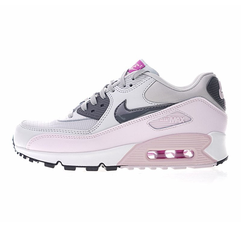 new arrival 02b7c 3f362 Nike Air Max 90 Women's Running Shoes Abrasion Breathable Resistant Shock  Absorption Outdoor Sneakers 616730-112