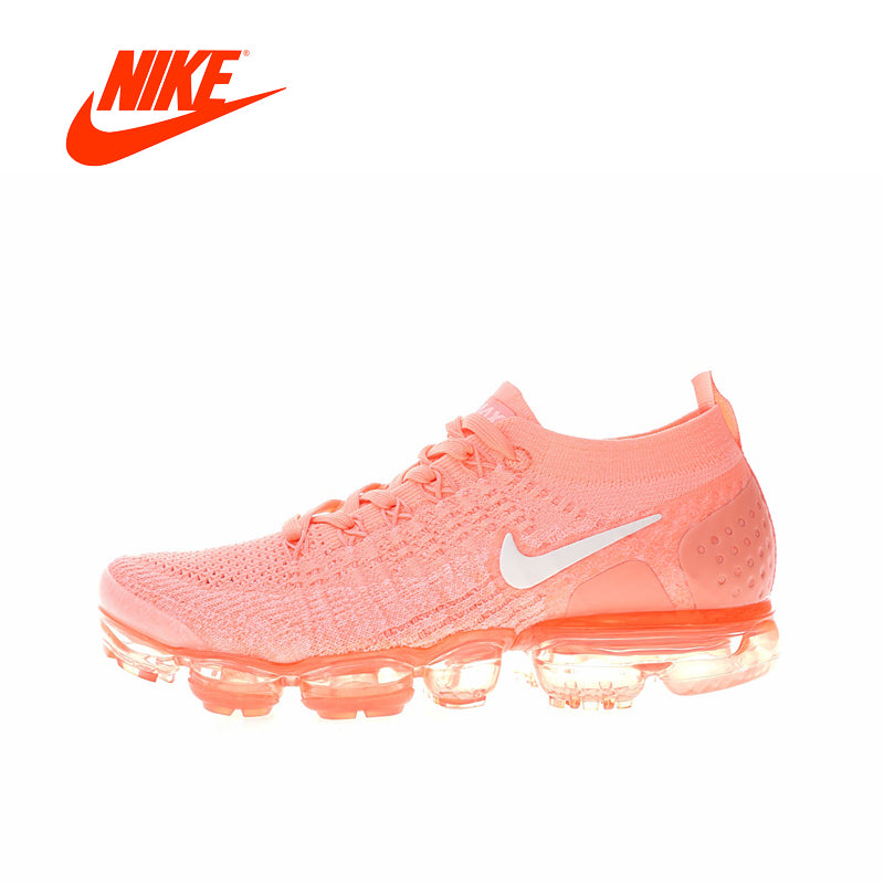 Original New Arrival Authentic NIKE AIR VAPORMAX FLYKNIT 2 Women's Running Shoes Sport Outdoor Sneakers Good Quality 942843 102