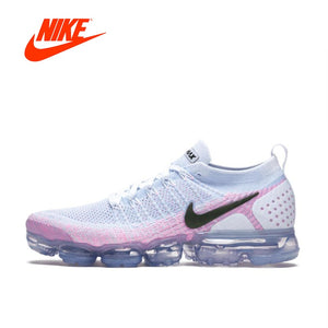 Original New Arrival Authentic NIKE AIR VAPORMAX FLYKNIT 2 Women s Running  Shoes Sport Outdoor Sneakers Good Quality 942843-102 8ece6cb78
