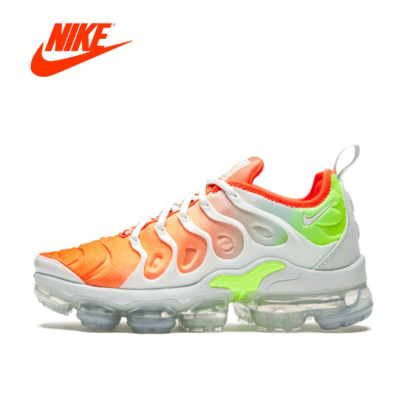 promo code a424c 68ae4 Original New Arrival Authentic NIKE AIR VAPORMAX PLUS Men's Breathable  Running Shoes Sport Outdoor Sneakers 924453-005