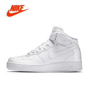 9f5efbb57e57 Original New Arrival Authentic Nike Air Force 1 AF1 Men s Breathable  Skateboarding Shoes Sport Outdoor Sneakers 315123-111