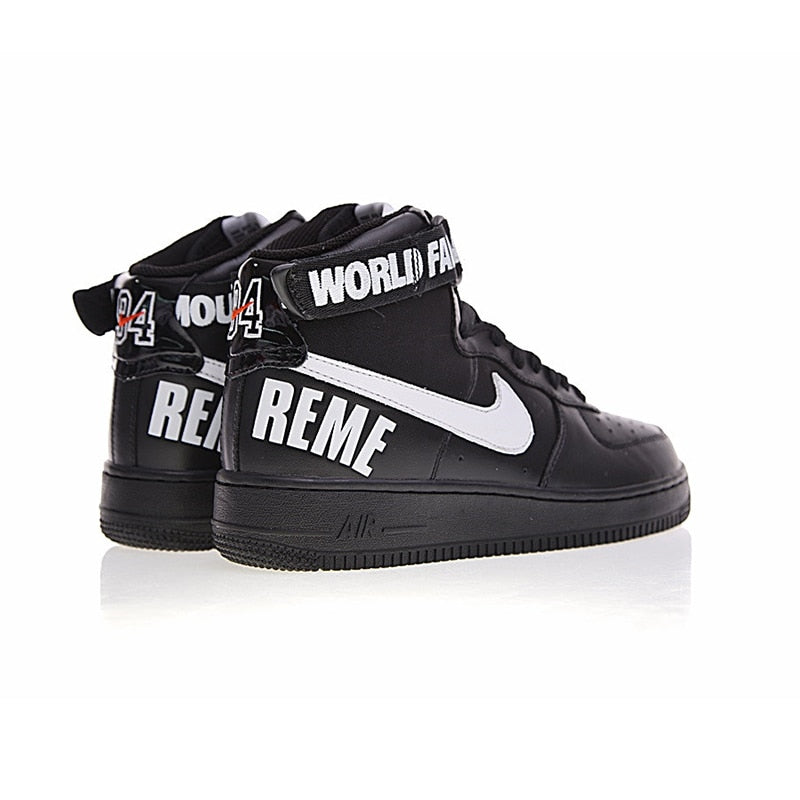 46379a0e04 Original New Arrival Authentic Nike Air Force 1 X Supreme AF1 SUP Men's  Skateboarding Shoes Sneakers Good Quality 698696-010