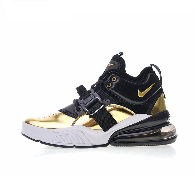 best website 33d38 9616e Original New Arrival Authentic Nike Air Force 270 QS Gold Standard Men's  Running Shoes Sport Sneakers Good Quality AT5752-700