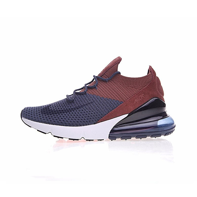 outlet store 0c393 f8ed9 Original New Arrival Authentic Nike Air Max 270 Flyknit Men's Comfortable  Running Shoes Sport Outdoor Sneakers AO1023-400
