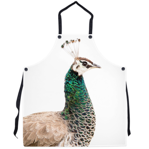 Portuguese Peacock Apron: Scott Herndon Photography