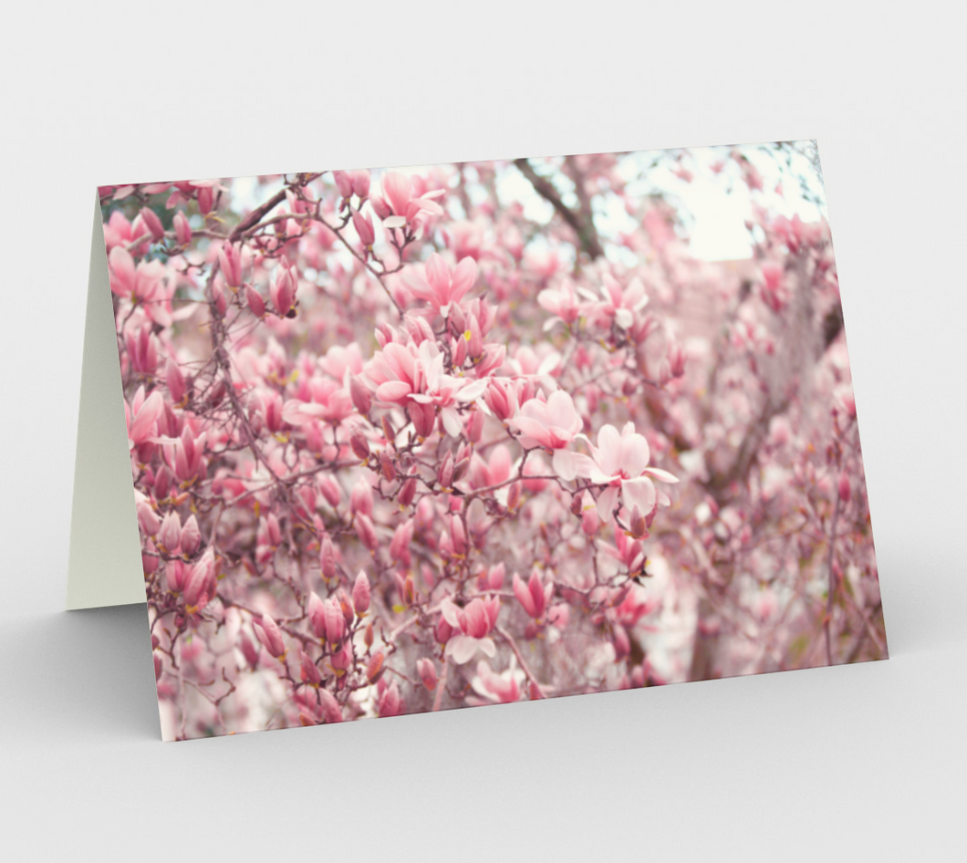 Japanese Magnolia Card