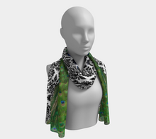 Load image into Gallery viewer, Elegant Peacock Scarf