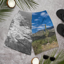 Load image into Gallery viewer, Men's Athletic Long Shorts - Desert and Snow - Opposites Attract