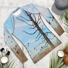 Load image into Gallery viewer, Men's Rash Guard - Tree - The Tree Stands Alone
