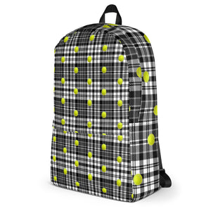 Tennis Theme Backpack