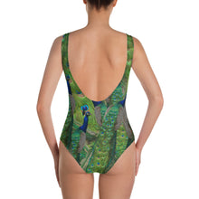 Load image into Gallery viewer, One-Piece Swimsuit / Bathing Suit - Peacocks Galore!