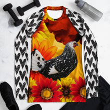 Load image into Gallery viewer, Women's Rash Guard- Because Everyone Needs a Chicken Shirt!