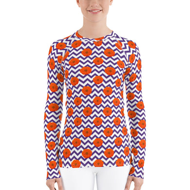 Clemson Shirt - Clemson Rash Guard - Clemson Sun Shirt - Clemson Sun Protection Shirt