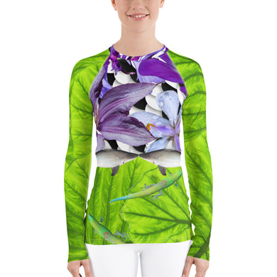 Sharks, Lizards and Flowers - Oh My!  Sun Shirt - Sun Protection - Swim Shirt