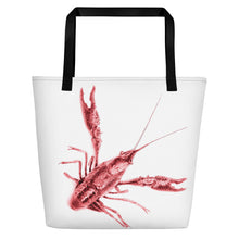 Load image into Gallery viewer, Crawdad Crazy Tote Bag: Scott Herndon Photography