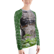 Load image into Gallery viewer, Women's Rash Guard - Women's Fishing Shirt - Women's UPF Shirt - Gator Shirt