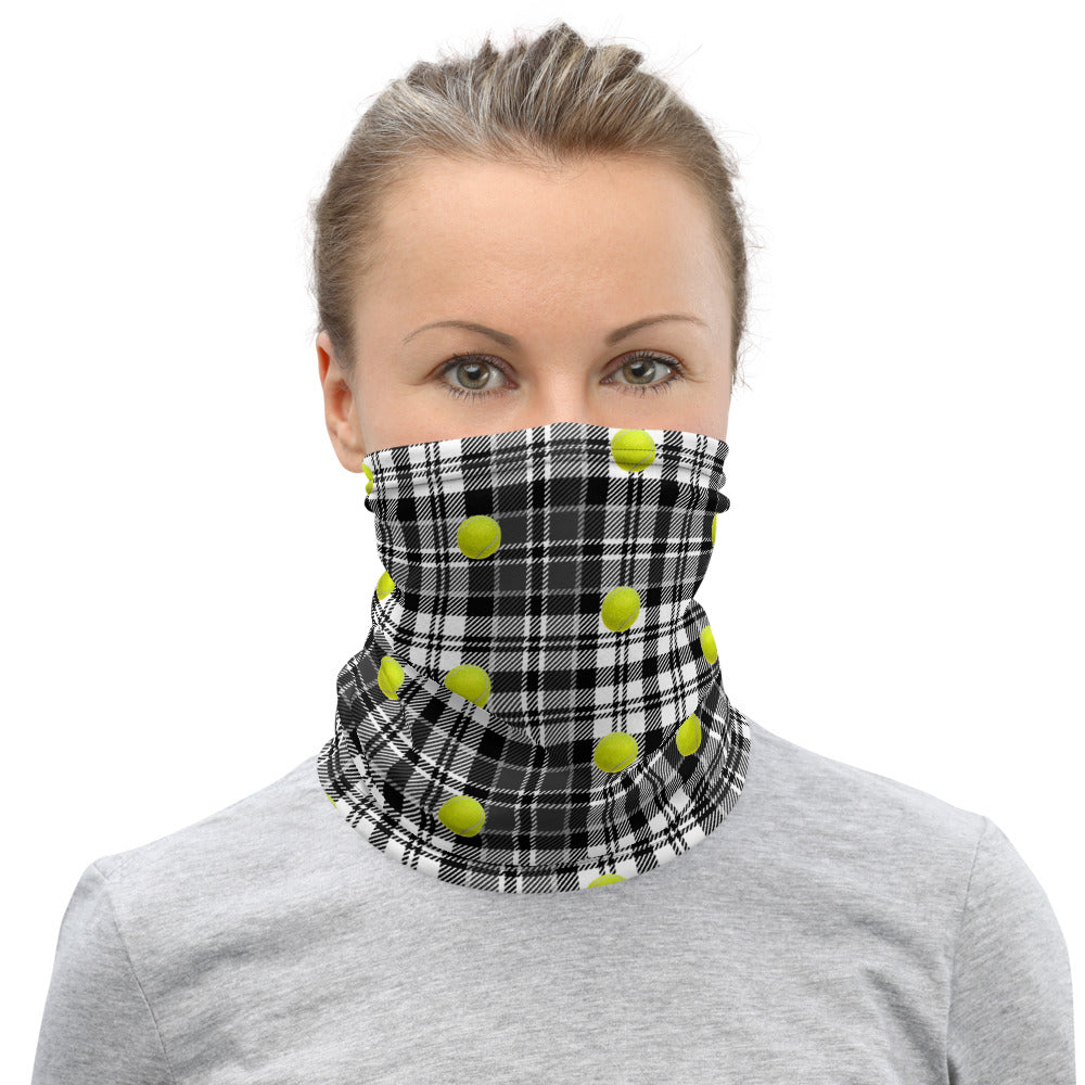 Neck Gaiter - Face Mask - Tennis Balls - Tennis Theme - Tennis Lover - Face Protection - Tennis Balls - Tennis Ball