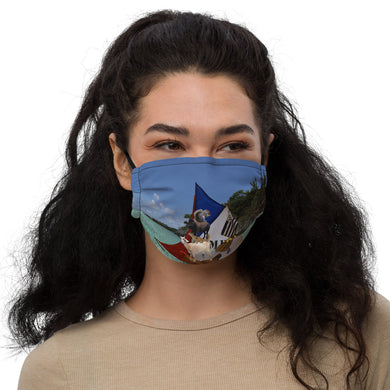 Premium face mask - Silly Mask - Sailboat - Chicken - Goat - Animals - Funny - Laugh