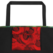 Load image into Gallery viewer, Tennis Bag - Tennis Theme Tote Bag - Peacock Tote Bag