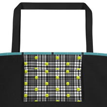 Load image into Gallery viewer, Tennis Tote Bag - Tennis Bag - Tennis Theme Tote - Tennis Gift