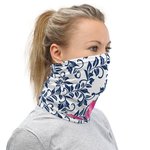 Neck Gaiter- 300 Club Pink Water Lily 3.0 Team