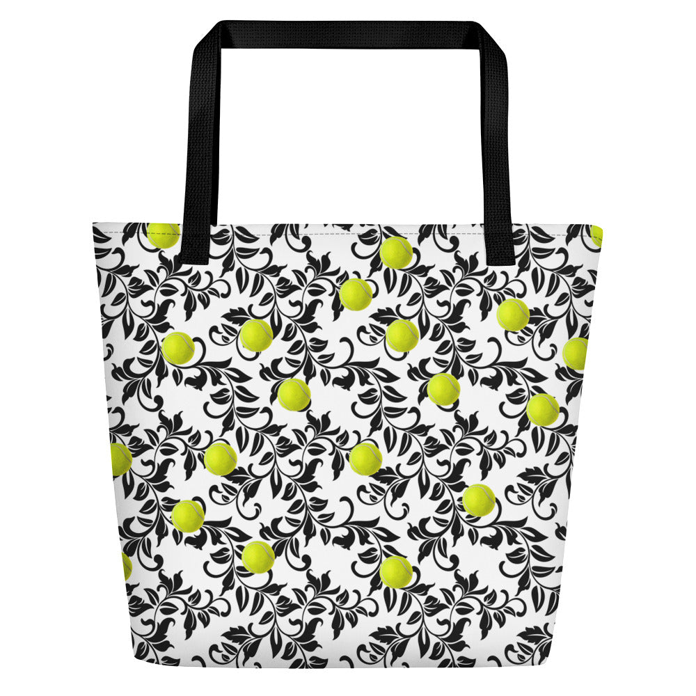 Beach Bag - Tennis Bag - Tennis Ball - Tennis Player - Tennis Gift - Tennis Theme - Tennis Team