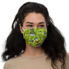 Load image into Gallery viewer, Premium face mask - Silly Mask - Fish - Ferns - Chicken - Flowers - Bubbles