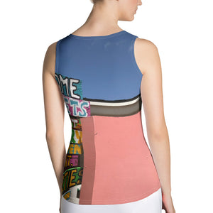 Sublimation Cut & Sew Tank Top - Beach - Caribbean - Sun - Fun