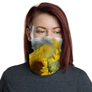 Neck Gaiter - Face Covering - Face Mask - Face Protection - Mask - Sunflowers - Headband