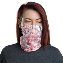 Load image into Gallery viewer, Neck Gaiter - Face Mask - Japanese Magnolias - Pink Flowers - Face Protector