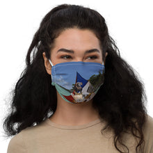 Load image into Gallery viewer, Premium face mask - Silly Mask - Sailboat - Chicken - Goat - Animals - Funny - Laugh