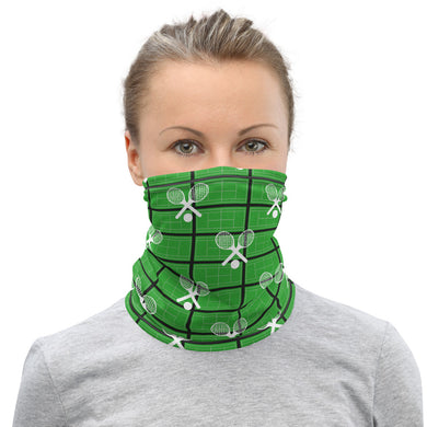Neck Gaiter - Tennis Mask - Tennis Theme - Tennis Fan - Tennis Racquets - Tennis Lover - Tennis Gift - Tennis Ball - Tennis Balls