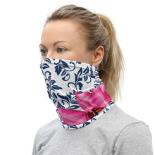 Load image into Gallery viewer, Neck Gaiter- 300 Club Pink Water Lily 3.0 Team