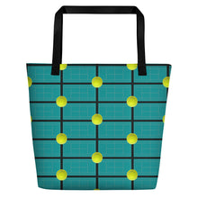 Load image into Gallery viewer, Tennis Theme Tote Bag