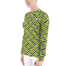 Load image into Gallery viewer, Citrus Celebration - Limes Away - Women's Rash Guard