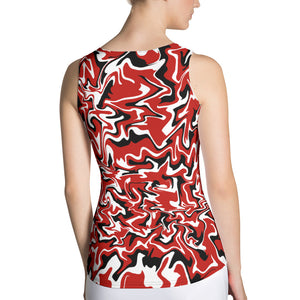 40 Love Abstract Tank