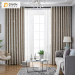 DIHINHOME Home Textile Kid's Curtain DIHIN HOME Cartoon Beige Moon and Star Printed,Blackout Grommet Window Curtain for Living Room ,52x63-inch,1 Panel